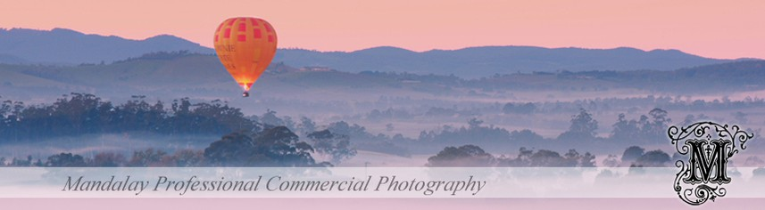 Yarra Valley stock photo - Ballooning