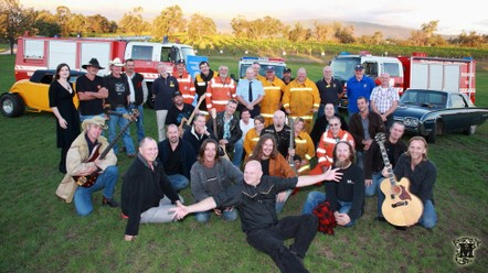 Bushfire Relief Concert members, Promotional Photo, Yarra Valley - Mandalay Photography