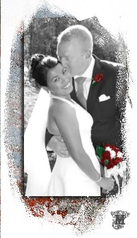 Sample Wedding Photo Book page layout