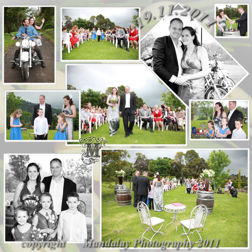Yarra Valley Hedgend Maze Wedding Photos by Mandalay Photography