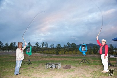 Whip-cracking display, Promotional Photo, Yarra Valley - Mandalay Photography